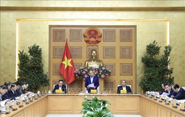 Le PM preside la 6e reunion du sous-comite socio-economique hinh anh 1