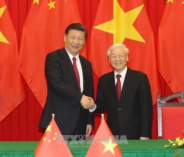 """Entre le Vietnam et la Chine, """"l'amitie et la cooperation sont le courant principal"""" hinh anh 1"""
