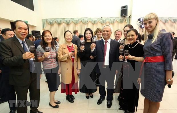 Rencontre des representants des ONG etrangeres a l'occasion du Tet du Rat hinh anh 1