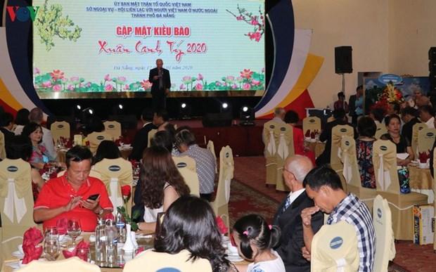Da Nang: rencontre avec 200 Viet Kieu a l'occasion du Tet hinh anh 1