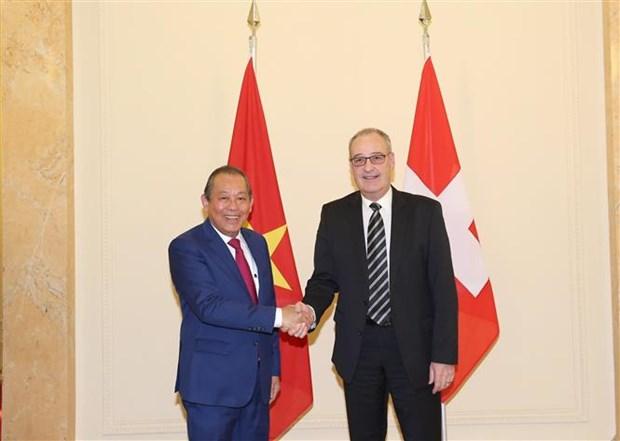 Renforcement de la cooperation Vietnam-Suisse hinh anh 1