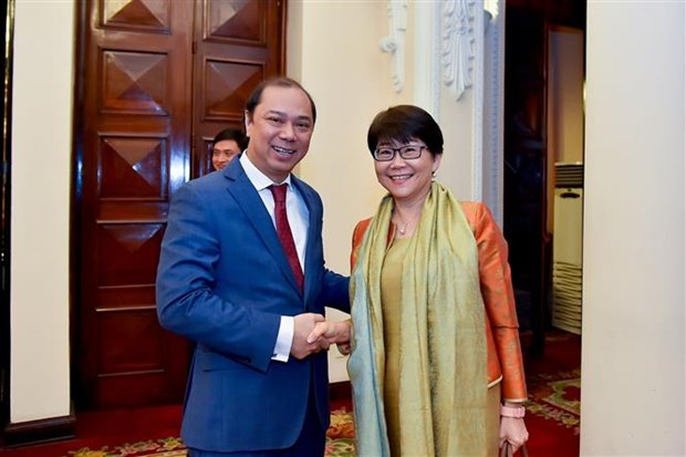 Consultation politique annuelle Vietnam-Thailande hinh anh 1