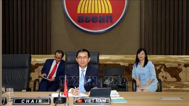 Le Vietnam preside a une reunion du Conseil d'administration de l'ASEAN-IPR hinh anh 1