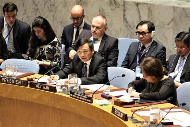 Moyen-Orient : Le CSNU appelle a la retenue et au respect du droit international hinh anh 2