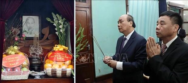 Celebration de la naissance du Parti : en memoire du President Ho Chi Minh hinh anh 1
