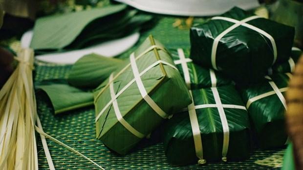 """""""Banh chung"""", l'ame du Tet vietnamien hinh anh 1"""