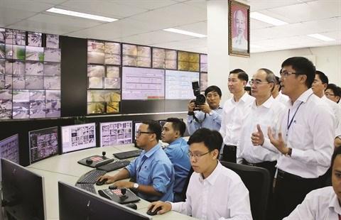 """Ho Chi Minh-Ville: Le projet de """"ville intelligente"""" prend son essor hinh anh 2"""