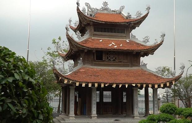 A Hanoi, une pagode conserve encore sa beaute antique hinh anh 1