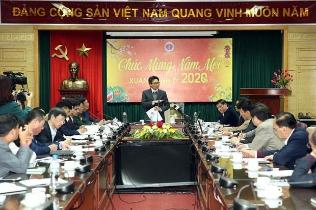 Le vice-PM Vu Duc Dam souligne l'importance de la lutte contre les epidemies hinh anh 1
