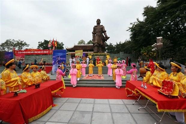 Celebration des 231 ans de la victoire de Ngoc Hoi-Dong Da hinh anh 1