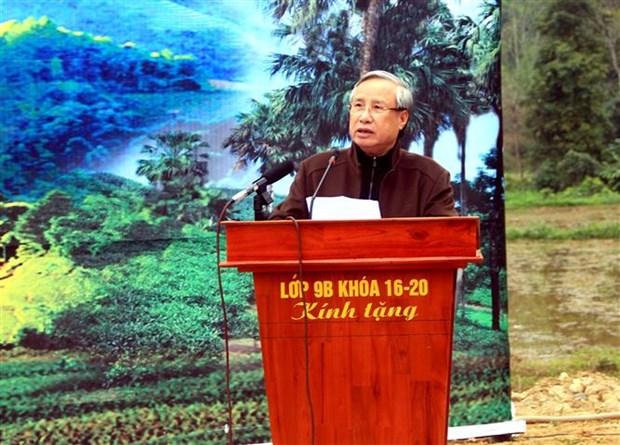 Lancement de la Fete de plantation d'arbres du printemps 2020 a Tuyen Quang hinh anh 1