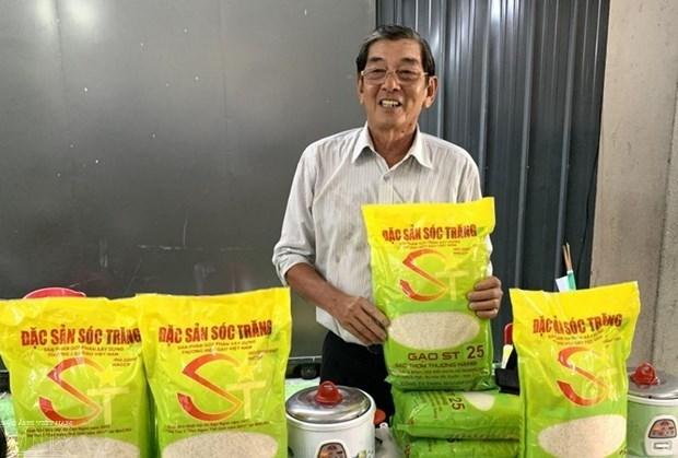 Ho Quang Cua et le «Meilleur riz du monde» hinh anh 1
