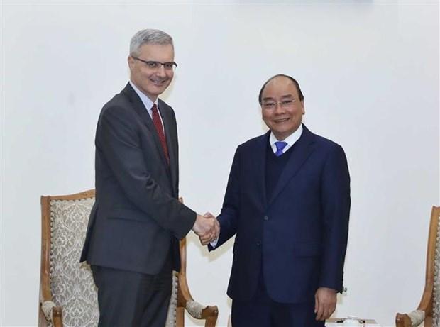 Le Premier ministre recoit l'ambassadeur de France hinh anh 1