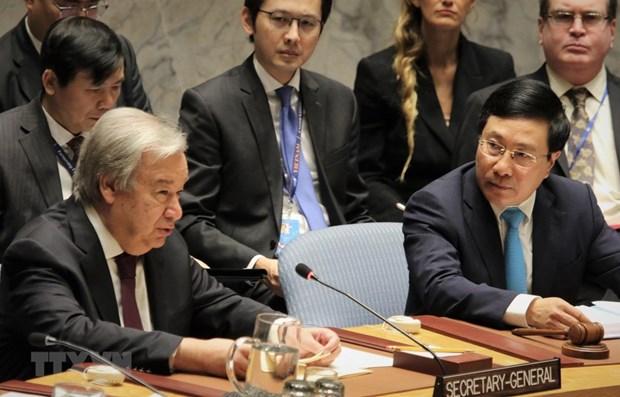 Le Vietnam assume avec succes la presidence du Conseil de securite en janvier 2020 hinh anh 1