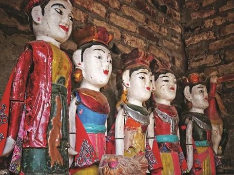 Excursion dans le village des marionnettes sur l'eau de Dao Thuc hinh anh 1