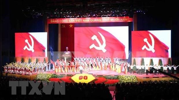 Le Parti communiste du Vietnam continue de recevoir des felicitations pour son 90e anniversaire hinh anh 1