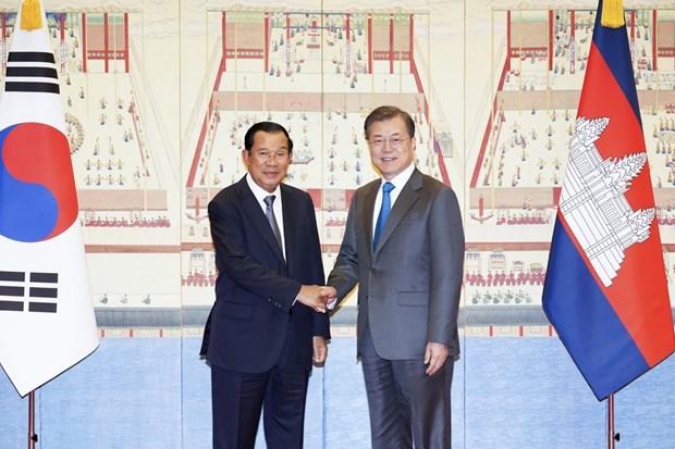 La R. de Coree et le Cambodge renforcent leur cooperation multiforme hinh anh 1