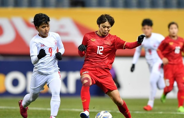 Football feminin : le Vietnam se qualifie pour les series eliminatoires des JO 2020 de Tokyo hinh anh 1