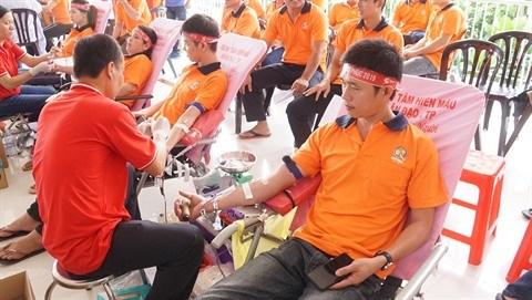 Ho Chi Minh-Ville : menace de penurie de sang en raison de l'epidemie de nCoV hinh anh 1