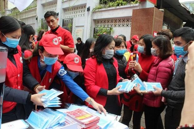 La Croix-Rouge du Vietnam sensibilise a la lutte contre le nouveau coronavirus hinh anh 1