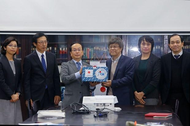 Le Japon aide le Vietnam a identifier rapidement le nCoV hinh anh 1