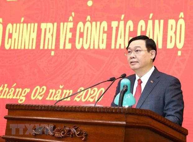 Le Comite du Parti de Hanoi a un nouveau secretaire hinh anh 1