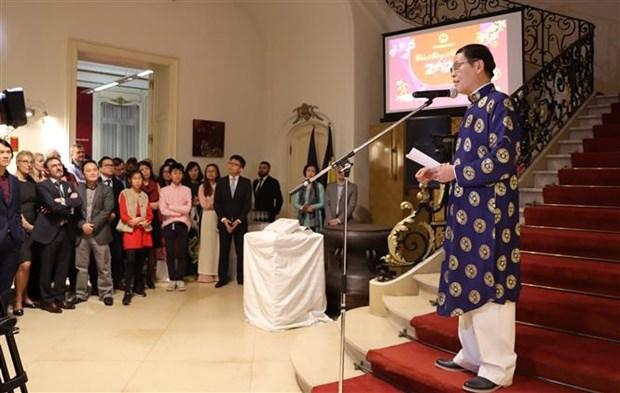 Un diplomate salue les relations Vietnam-UE, Vietnam-Belgique hinh anh 1