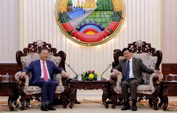 Le Vietnam et le Laos renforcent leurs liens de securite hinh anh 1