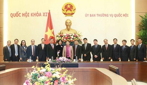 La presidente de l'AN exhorte a promouvoir la diplomatie economique hinh anh 1