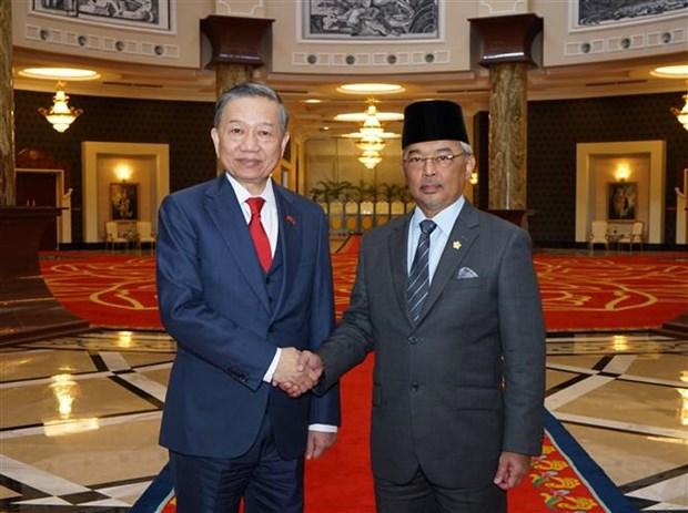 Le Vietnam et la Malaisie renforcent leur cooperation dans la lutte anti-criminalite hinh anh 1