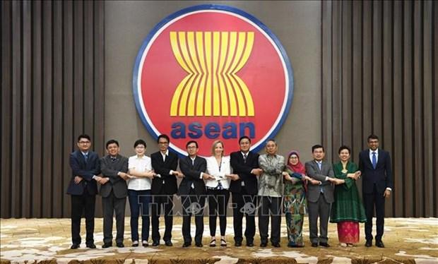 Les Etats-Unis affirment prendre en haute consideration la cooperation avec l'ASEAN hinh anh 1