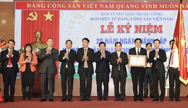 Le Journal en ligne du Parti communiste du Vietnam fete ses 20 ans hinh anh 1