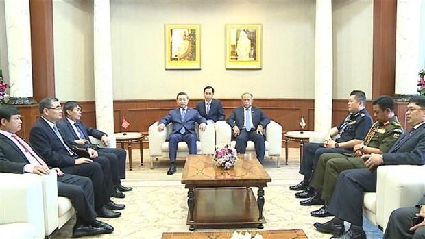Le Vietnam et le Brunei boostent leur cooperation anti-criminalite hinh anh 1
