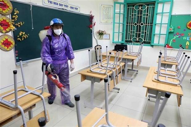 Les ecoles de Hanoi et Ho Chi Minh-Ville resteront fermees pendant une semaine hinh anh 1