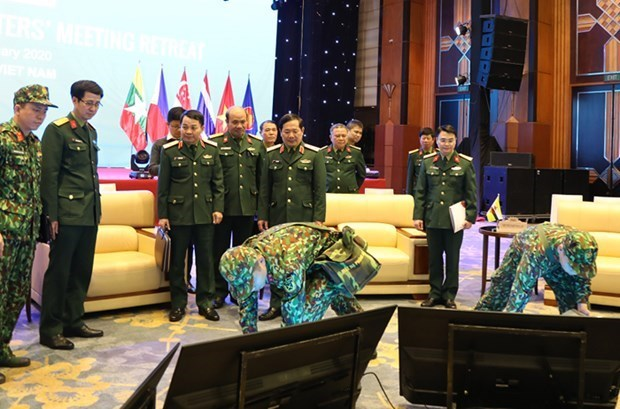 Le Vietnam s'efforce d'assurer la securite de l'ADMM Retreat hinh anh 1