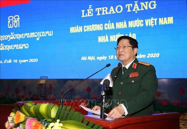 Vietnam-Laos : des individus et collectifs de l'armee a l'honneur hinh anh 1