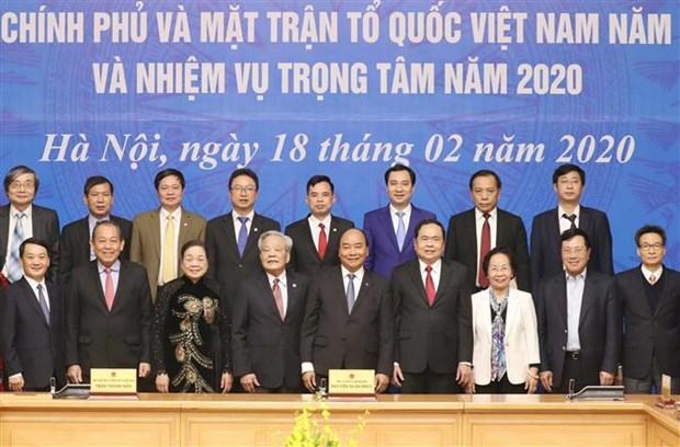 Le gouvernement travaille avec le Front de la Patrie du Vietnam hinh anh 1