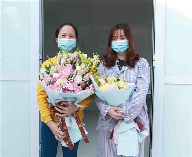Coronavirus COVID-19 : deux nouveaux cas gueris a Vinh Phuc hinh anh 1