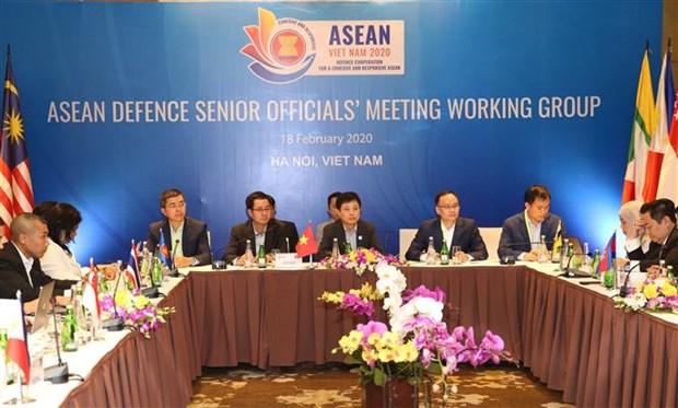 Reunion du Groupe de travail des hauts officiels de la defense de l'ASEAN hinh anh 1
