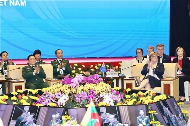 Les ministres de la Defense de l'ASEAN et de l'Australie se reunissent a Hanoi hinh anh 1