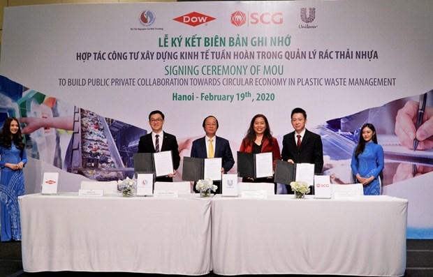 Le Vietnam etablit un PPP pour lutter contre les dechets plastiques hinh anh 1