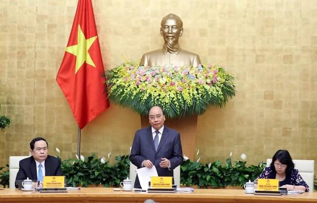 Le PM demande de lancer le mouvement d'emulation avec l'accent mis sur les taches urgentes hinh anh 1