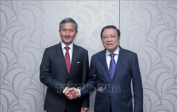 Singapour souhaite promouvoir une cooperation multiforme avec le Vietnam hinh anh 1