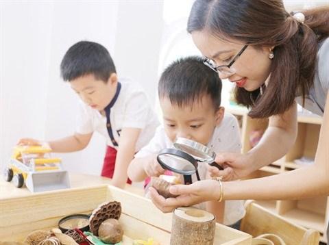 COVID-19 : des solutions pour la garde des enfants a domicile hinh anh 1