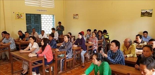 Cours d'aide pour les Cambodgiens d'origine vietnamienne dans leur integration a la societe locale hinh anh 1