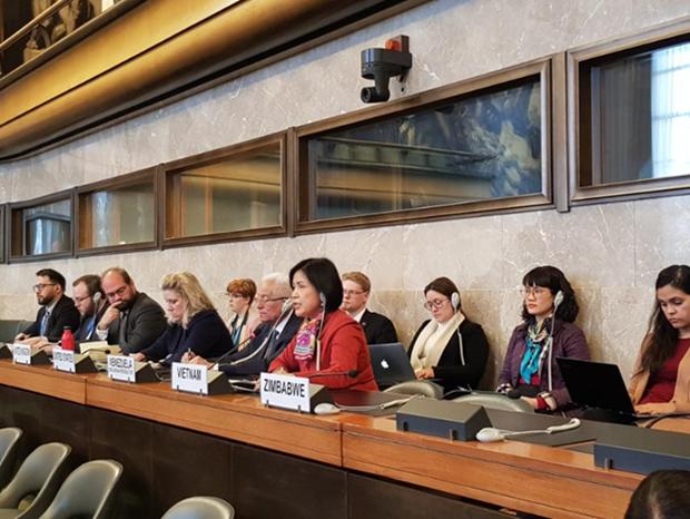 Le Vietnam participe a la Conference du desarmement a Geneve hinh anh 1