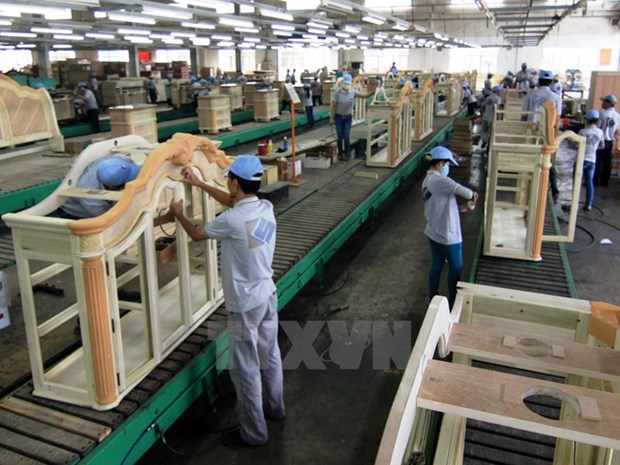 EVFTA : la filiere bois table sur un milliard de dollars d'exportations hinh anh 1