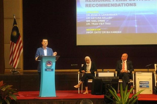 Defense : le Vietnam present au Dialogue Perwira 2020 en Malaisie hinh anh 1