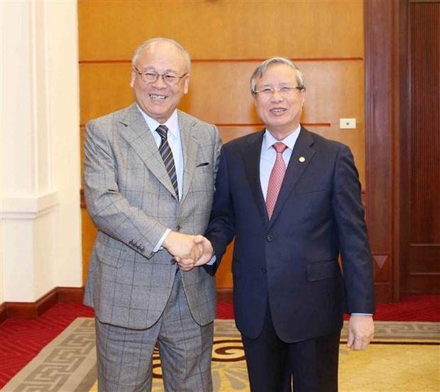 Le conseiller special de l'Alliance des deputes d'amitie Japon-Vietnam a Hanoi hinh anh 1