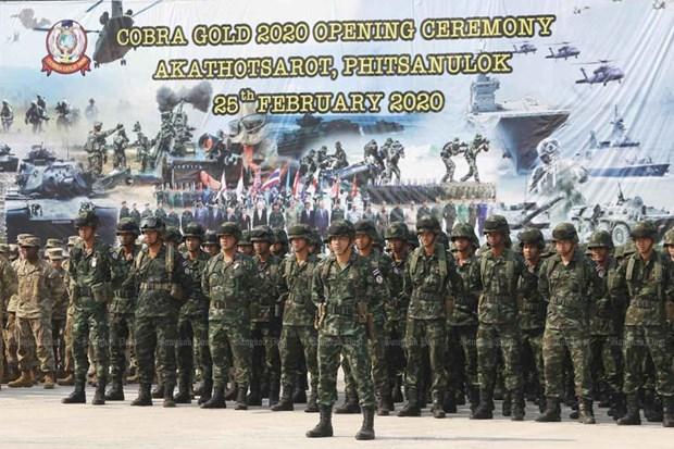 L'exercice militaire Cobra Gold demarre sur fond de coronavirus hinh anh 1